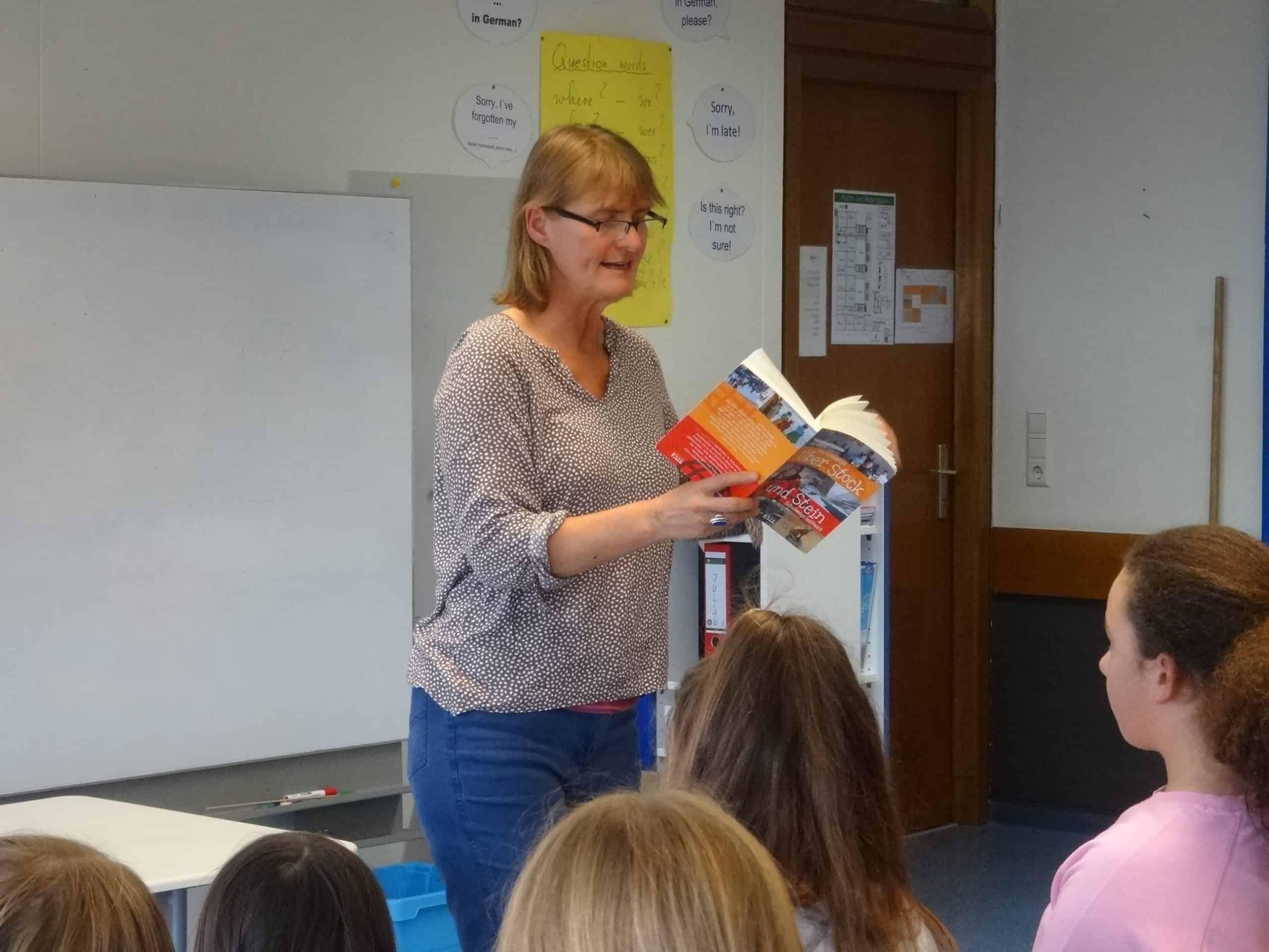 Autorenlesung an der Gemeinschaftsschule
