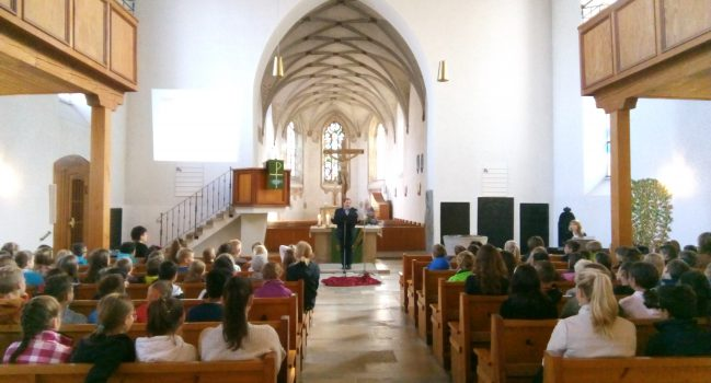 Einschulung der neuen Erstklässler an der Gemeinschaftsschule