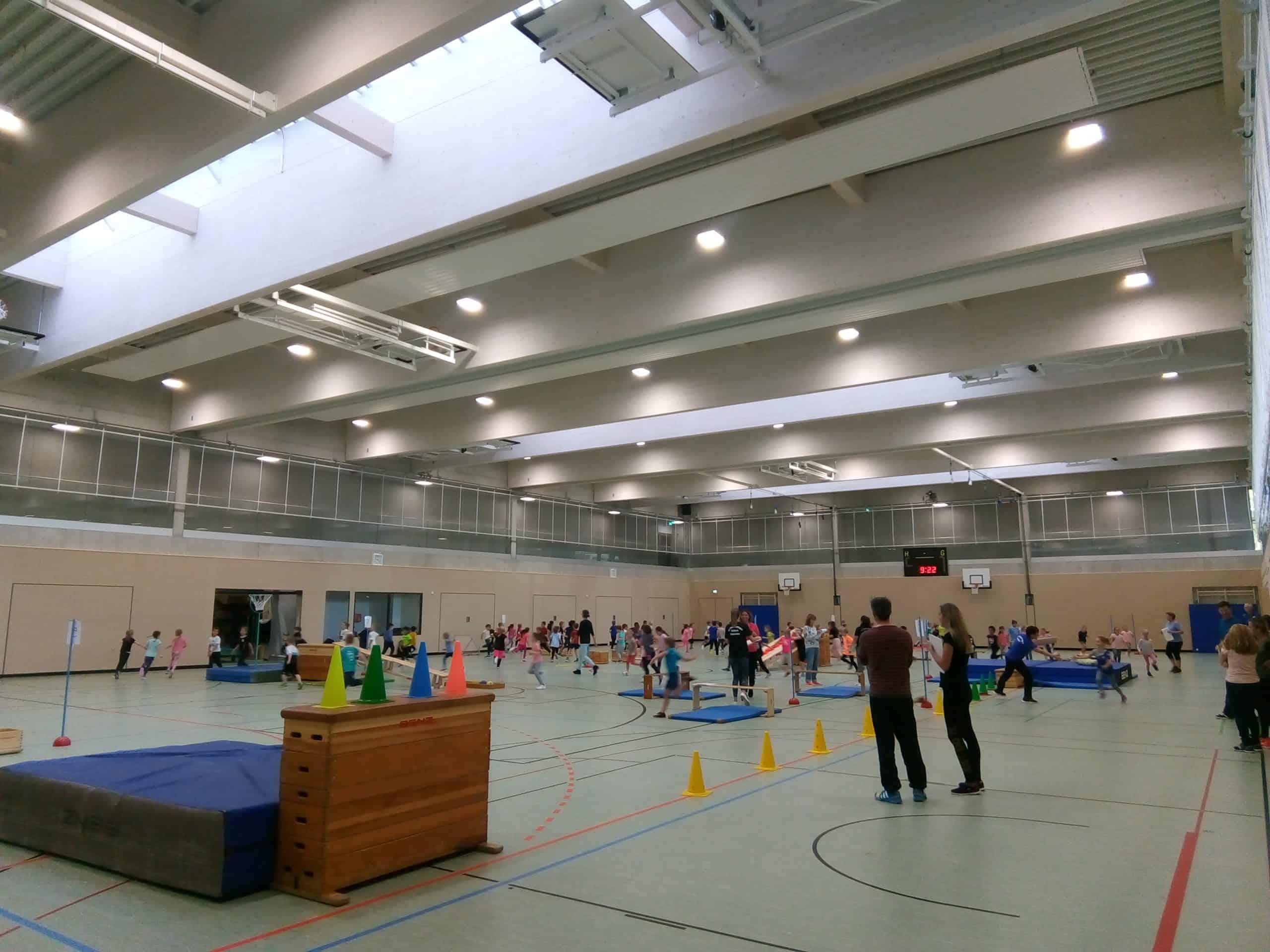Handballtag durchgeführt durch die Spielegemeinschaft Herbrechtingen-Bolheim (Minihandball)