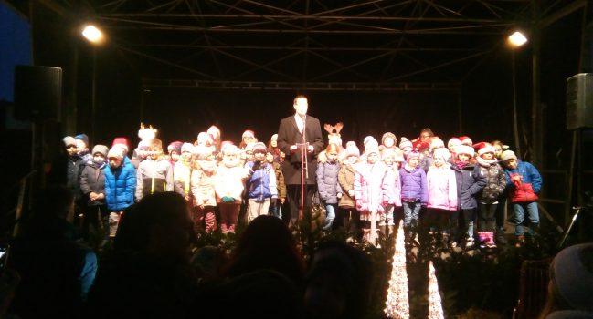 Eröffnung des Weihnachtsmarktes im Herbrechtinger Klostergarten
