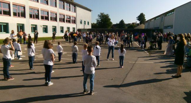 Einschulungen im Schuljahr 2021/22 an der GMS Bibrisschule