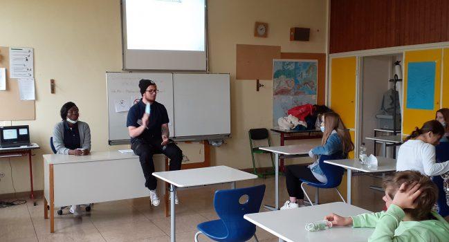 Ausbildungsbotschafter an der Gemeinschaftsschule Bibrisschule Herbrechtingen