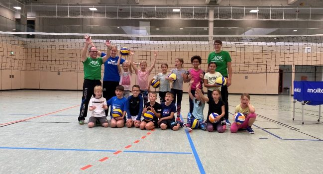 Gelungener Volleyball-Aktionstag an der Bibris-Gemeinschaftsschule